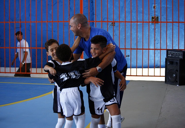 BOM INÍCIO! O Gol de Letra começou com vitórias em duas categorias. Foto: Divulgação.