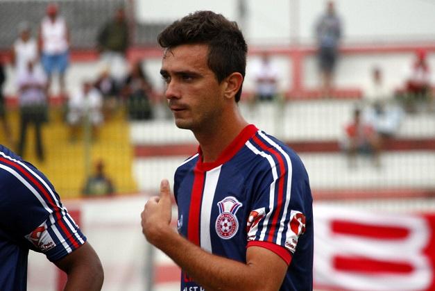 Guapi estreou pelo Gonçalense contra o Bangu. Foto: Gabriel Farias.