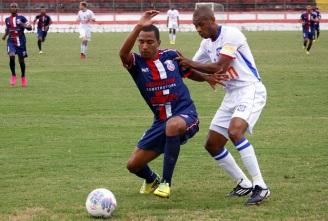 GRANDE FASE! João marcou três vezes em Moça Bonita. Foto: Gabriel Farias.