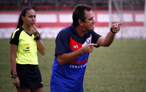 ENCAIXOU! Mário Marques vem conseguindo início animador com o Tricolor na Copa Rio. Foto: Gabriel Farias.