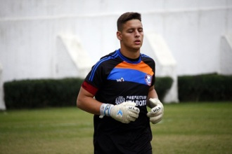 André Stov é o capitão da equipe sub-20 da ADI. Foto: Gabriel Farias.