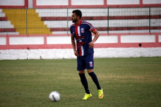 Gilmax se recuperou e já marcou gol contra o Friburguense. Foto: Gabriel Farias.