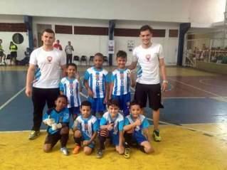 Afase faturou o título da Copa da Amizade Sub-07. Foto: Divulgação/LGD.