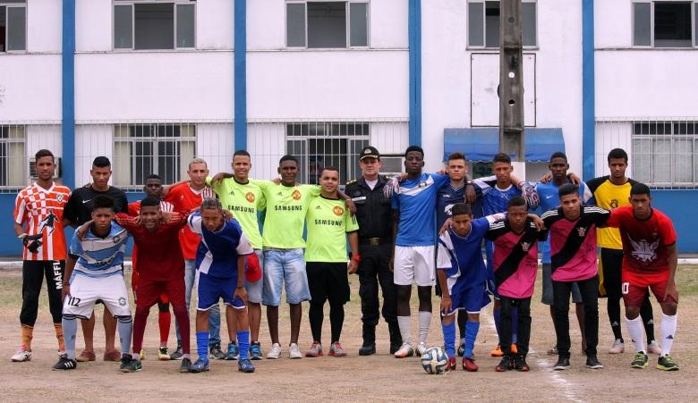 Jovens de 20 comunidades do Rio de Janeiro vão estar na disputa da competição. Foto: Gabriel Farias.