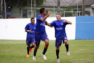 O Itaboraí venceu mais uma entre os juniores. Foto: Futebol Gonçalense.