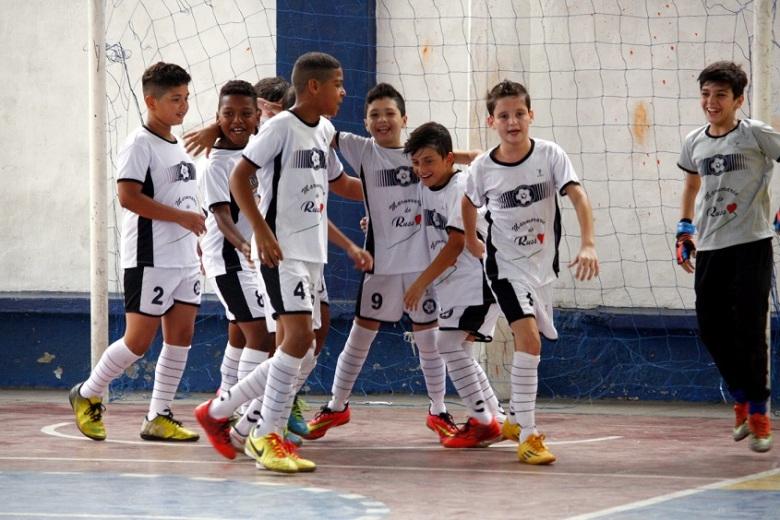 O Gol de Letra faturou o título da Copa da Amizade, no sub-11, por antecedência. Foto: Gabrial Farias.