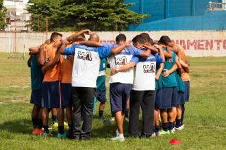 Gonçalense vai focar nos treinamentos durante a semana. Foto: Divulgação/GFC. Gonçalense vai focar nos treinamentos durante a semana. Foto: Divulgação/GFC