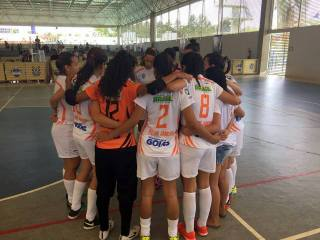 Meninas do RBAC/Universo estão nas oitavas de final. Foto: Divulgação.