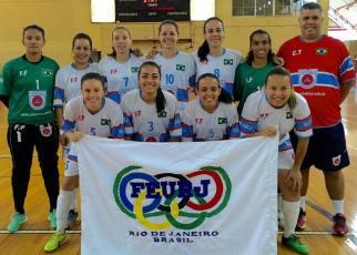 RBAC/Universo representa o Rio de Janeiro no Brasileiro de Futsal. Foto: Divulgação.