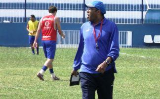 Luiz Antônio quer pincelar atletas na base e profissional. Foto: Gustavo Rangel.