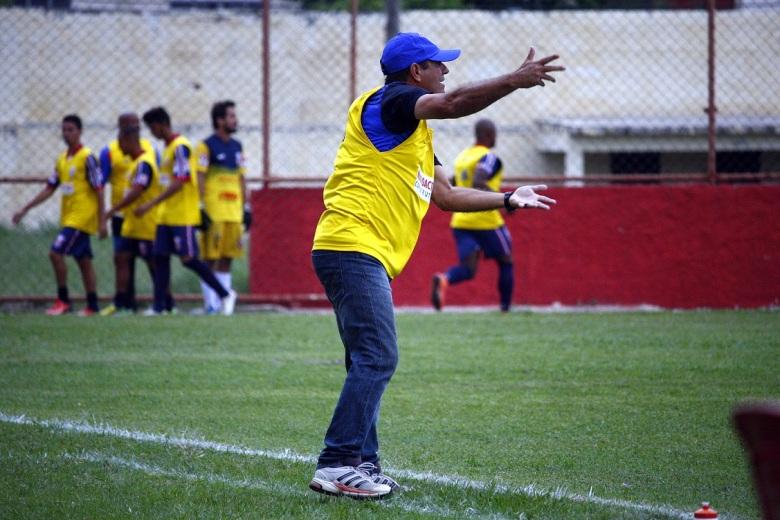 Mário Marques vai desfalcar o Gonçalense na reta final da Copa Rio. Foto: Gabriel Farias.