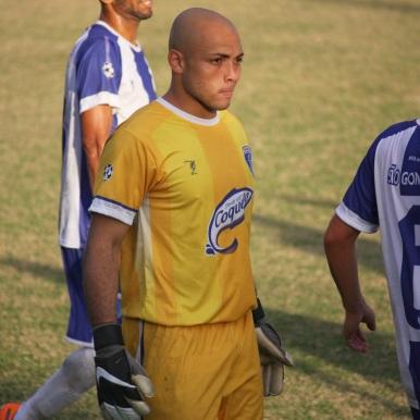 Diego em ação pelo São Gonçalo. Foto: Gabriel Farias